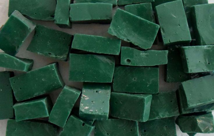 Smalti mozaïekglas Groen