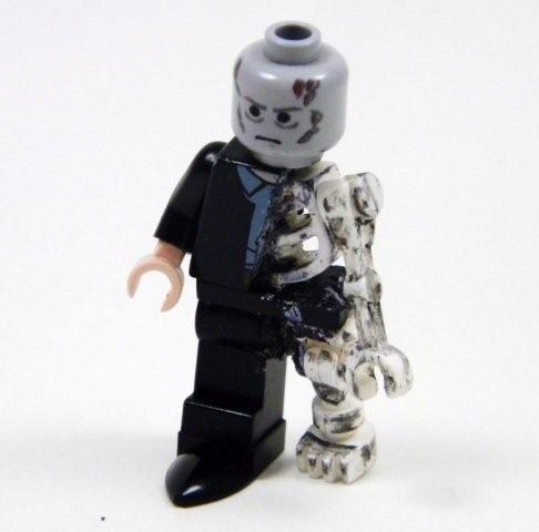 Custom LEGO Zombie