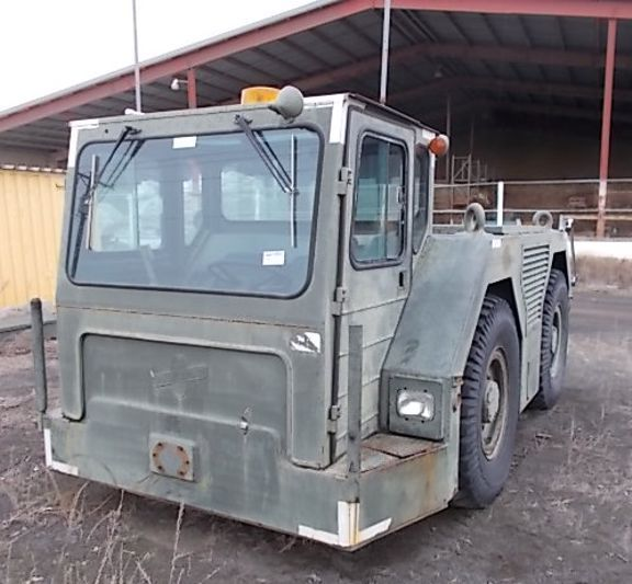 US Air Force Aircraft Towing Tractor Used for sale by tradermick 206-542-4460 www.tradermicksequipment.com