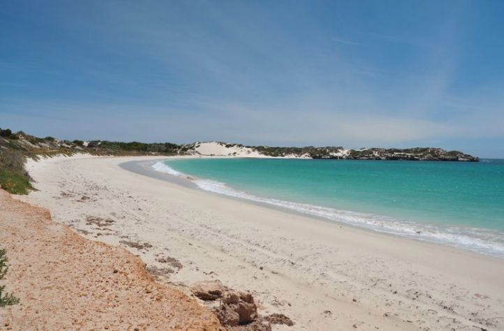 Sandy Cape beach and boardwalk is only a 10minute drive north of Jurien Bay. It's amazing.