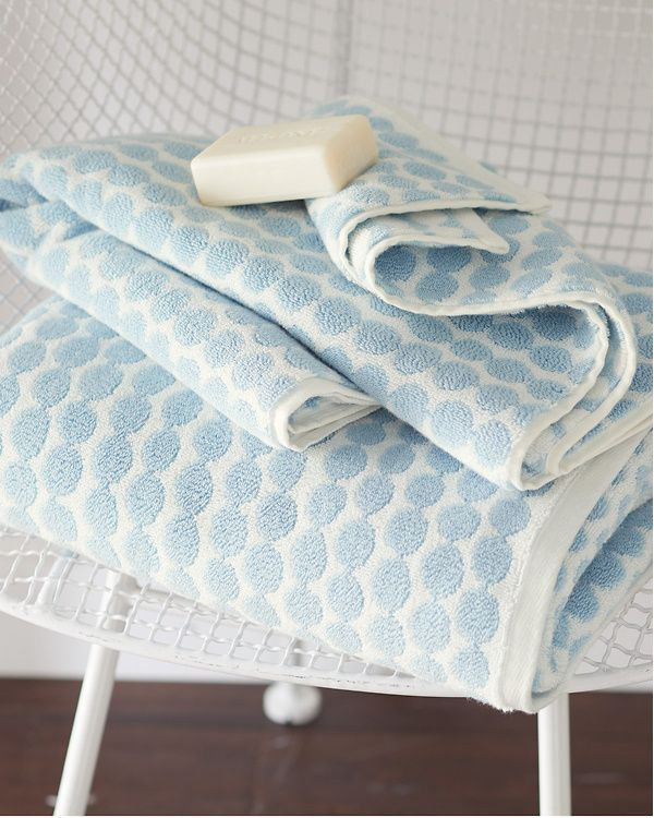 Hable Beads Towels From Garnett Hill White Hand Towels Towel Hooked Wool