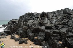 Volcanic Rock, Bunbury, Western Australia, Basalt Rock