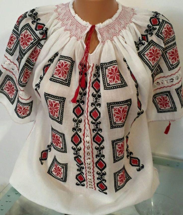 Ie - Romanian Blouse - Souvenir Shop Romania