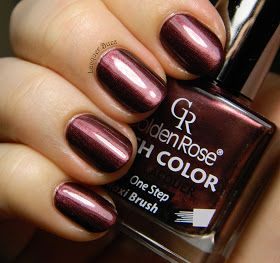 Golden Rose Rich Color #34. Pretty shade of nail polish for the fall & winter