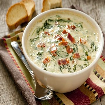 Cheesy Spinach and Bacon Dip - Recipe from Price Chopper