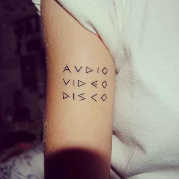 Text Tattoo Ideas Pinterest: Best 25+ Typography Tattoos Ideas On Pinterest