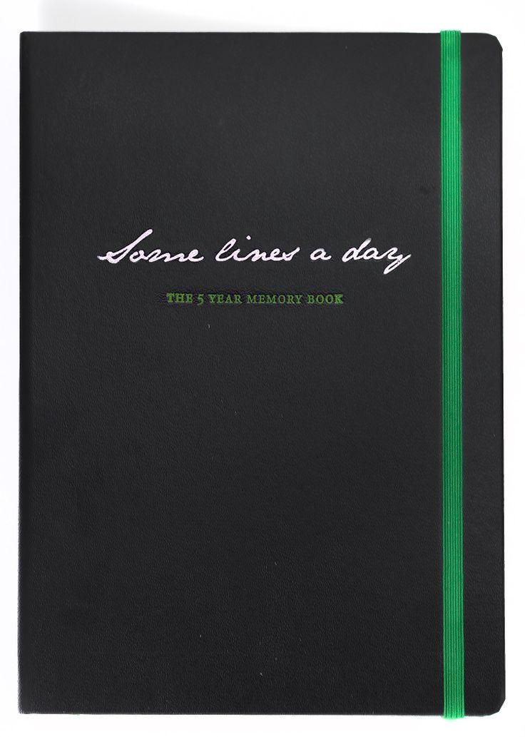 5-års dagbog set fra fronten. Flot er den!