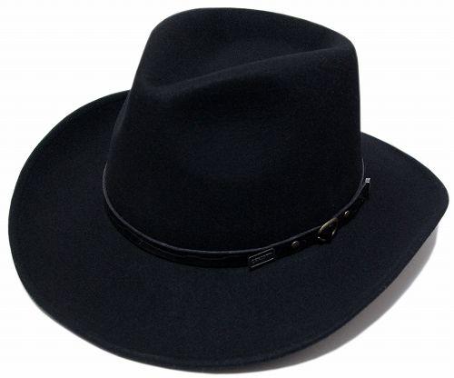 送料無料 CHRISTYS LONDON クリスティーズ ロンドン 24340 Western Wool Felt Hat ウェスタン ウール フェルト ハット Black 帽子 ハット 中折れハット 紳士 婦人 メンズ レディース 男女兼用【楽天市場】