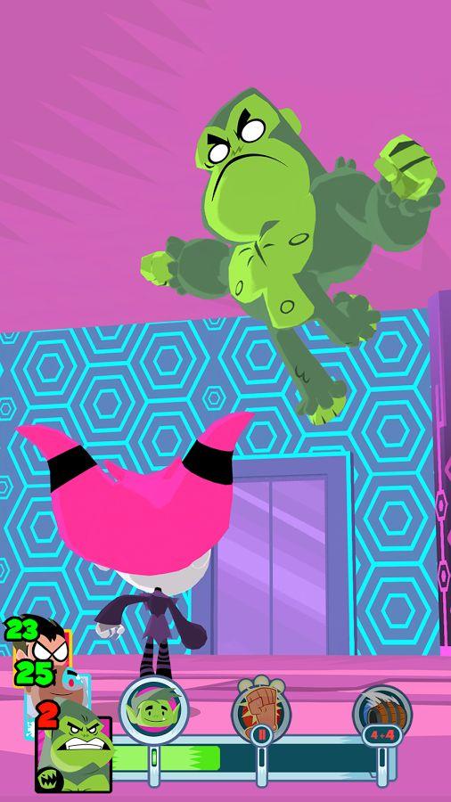 Los Minititanes - ¡Adelante!: captura de pantalla