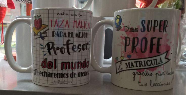 TAZAS PARA PROFES