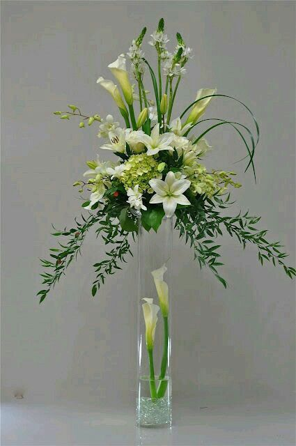 It look great highlighted selected blooms in the bottom of a glass vase- and has the added bonus of preventing people from walking into the glass!