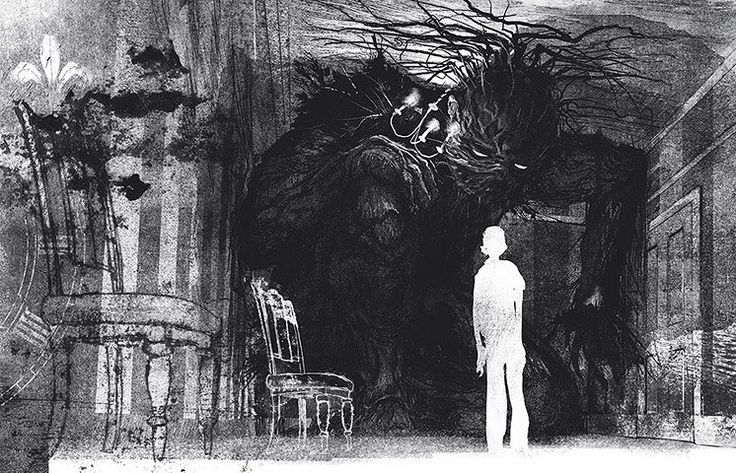 A Monster Calls, written by Patrick Ness and illustrated by Jim Kay