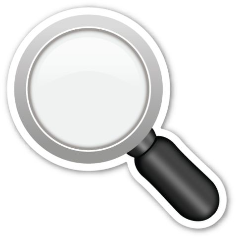 magnifying glass emoji 2 - photo #16