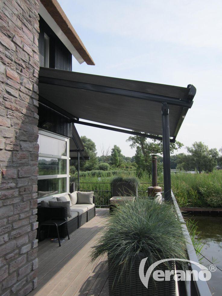 #Verandazonwering van Verano® zorgt voor aangename temperaturen in uw veranda of terrasoverkapping #Verano #verandasunprotection