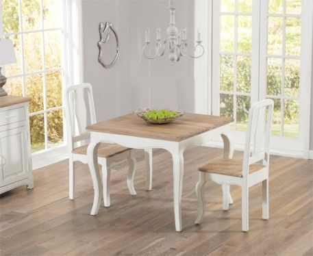 Shop The Parisian Shabby Chic Dining Table With Chairs At Oak Furniture Superstore Quick Delivery APR Available