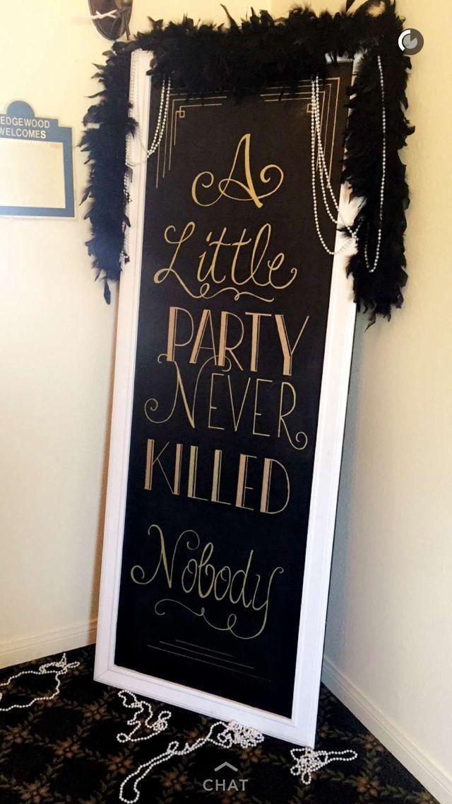 23 Wonderful Gatsby Wedding Party Ideas for Your G…