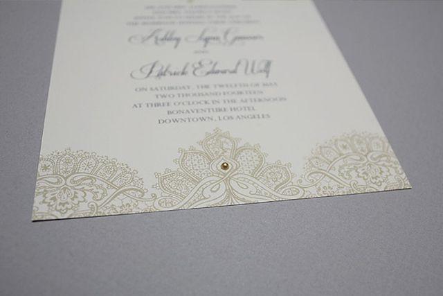 DIY Wedding Invitation Hacks: Adorn with adhesive gems