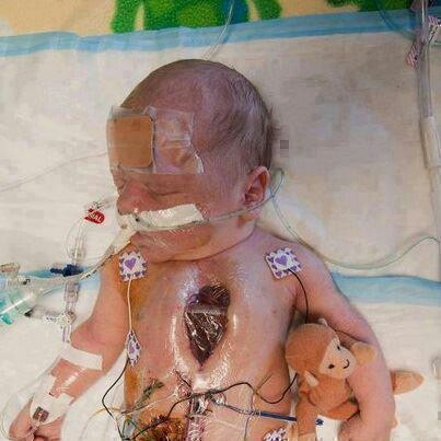 Put repost if you have a heart and wish for this baby