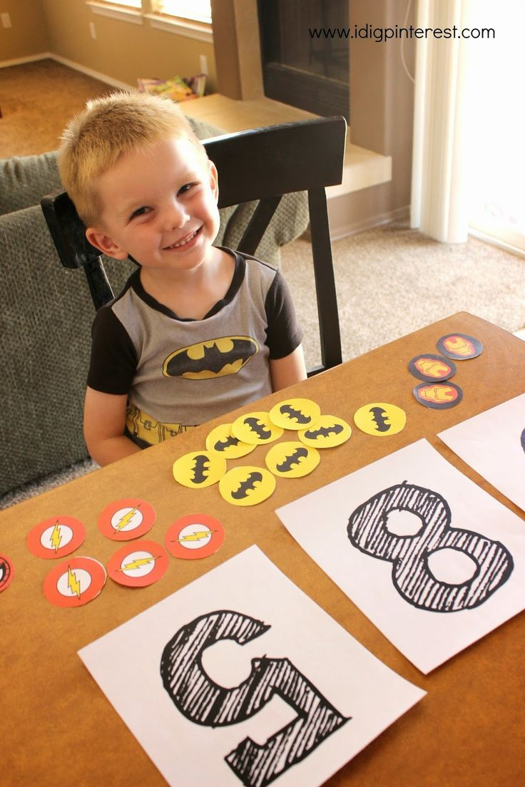 I Dig Pinterest: Make Learning Fun with Disney Jr., Preschool Superhero Sounds & Counting Free Printables!