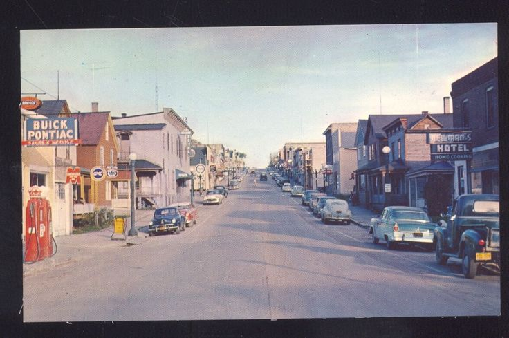Minneapolis Car Dealers >> 1950's CARS ELY MINNESOTA DOWNTOWN STREET BUICK CAR DEALER PONTIAC OLD POSTCARD   Cars, Buick ...