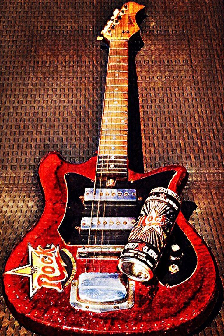 Guitars  Rockstarenergydrink