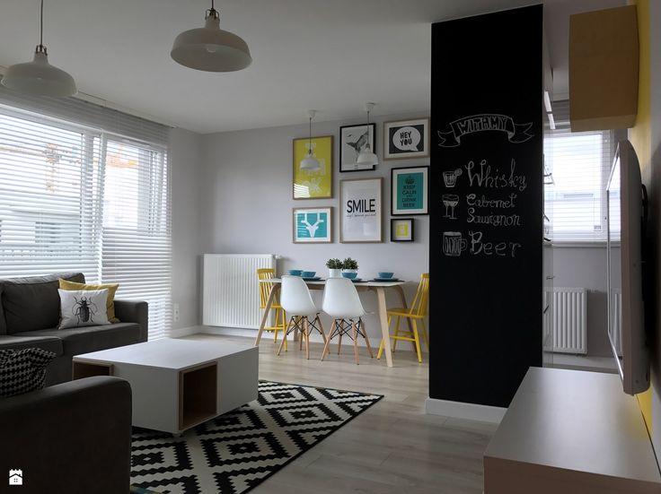 Salon styl Skandynawski - zdjęcie od Architektownia - Salon - Styl Skandynawski - Architektownia
