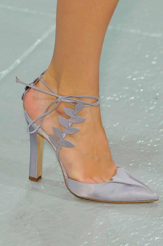From Simple to Outrageous, Spring 2014's Runway Shoes Are Here: Rodarte Spring 2014 : Zac Posen Spring 2014♡