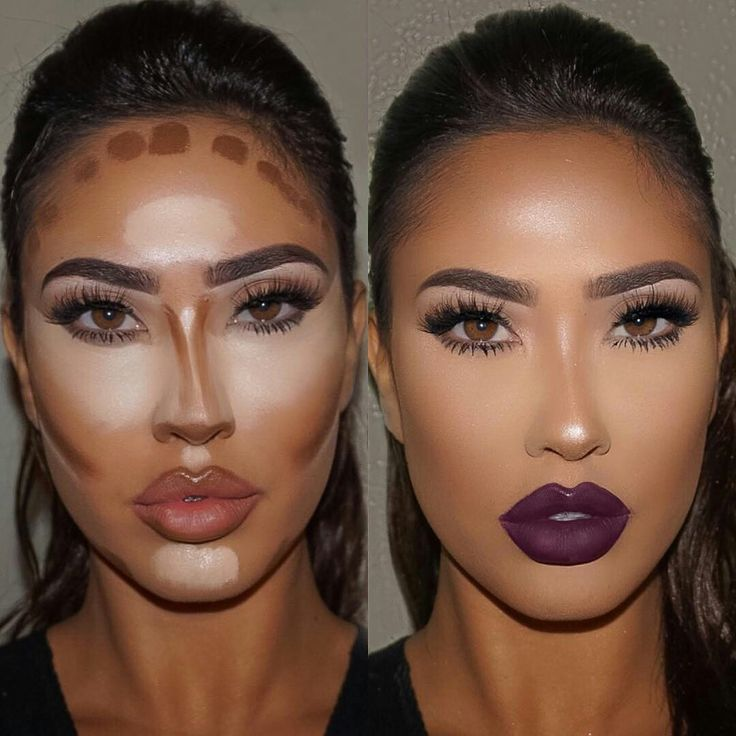 Very slim looking nose...contouring at its finest