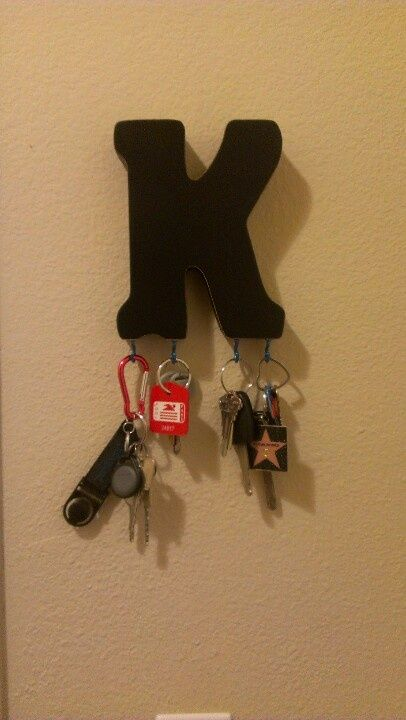 20 DIY Creative Key Holders | Daily source for inspiration and fresh ideas on Architecture, Art and Design