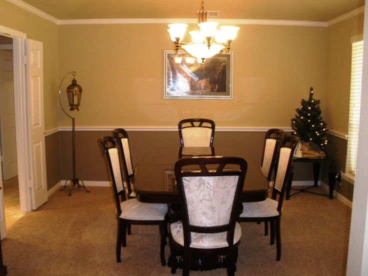 dining room paint colors with chair rail. Dining Room with Chair Rail Paint Ideas 9 best rail paint schemes images on Pinterest  room