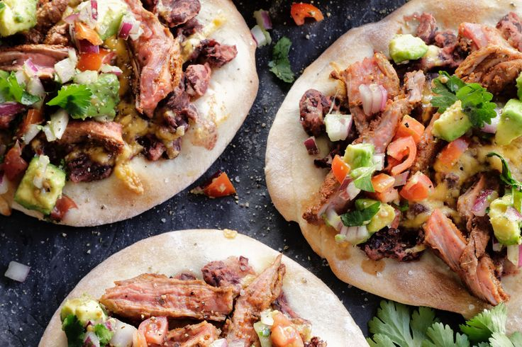 Mini Taco Pizzas - Make delicious beef recipes easy, for any occasion