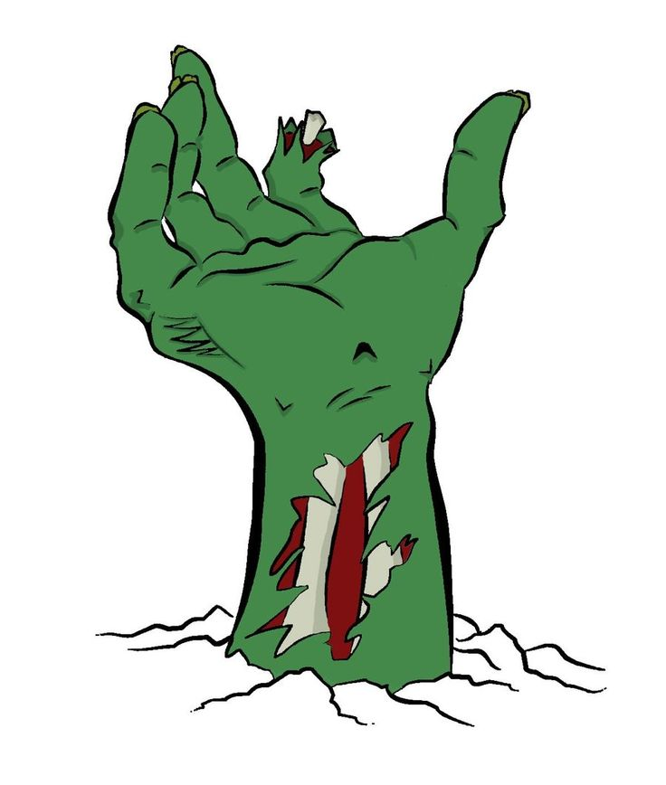 zombies clipart - photo #23