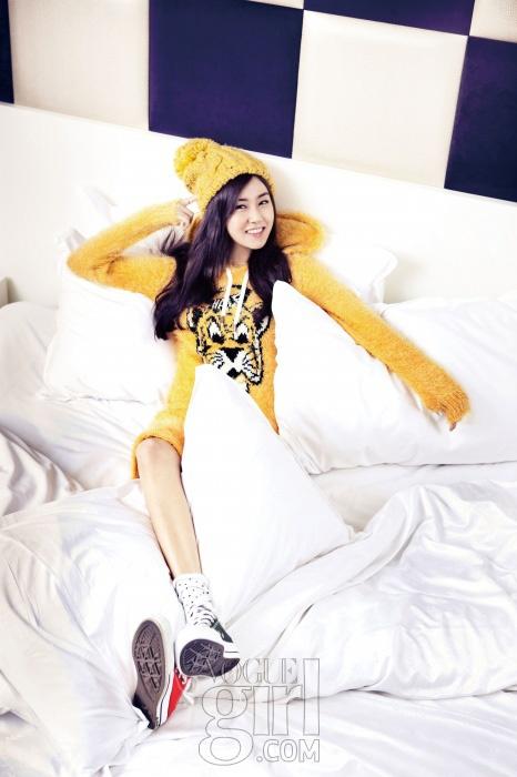 Heo Ga Yoon Vogue Girl Korea January 2013 Look 2