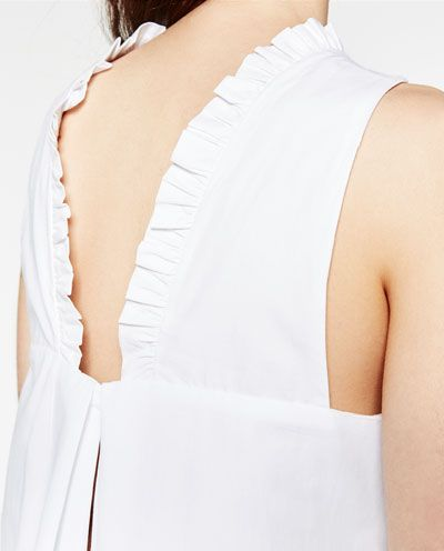 Image 6 de ROBE COMBINAISON À VOLANT de Zara