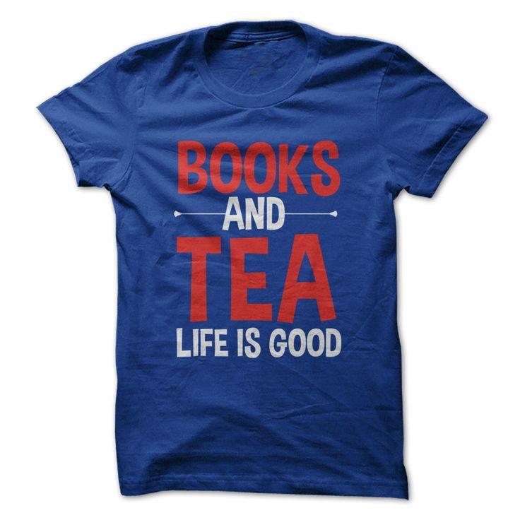 Books and Tea. Life Is Good