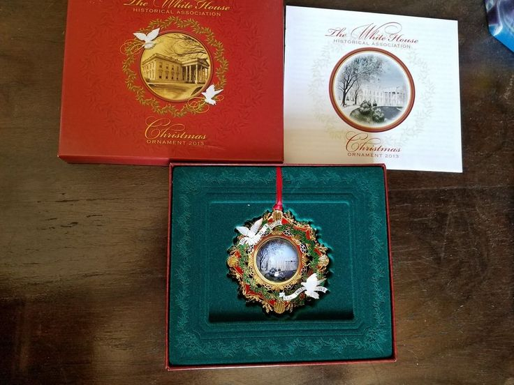 2013 White House Christmas Ornament, The American Elm Tree #WhiteHouseHistoricalAssociation