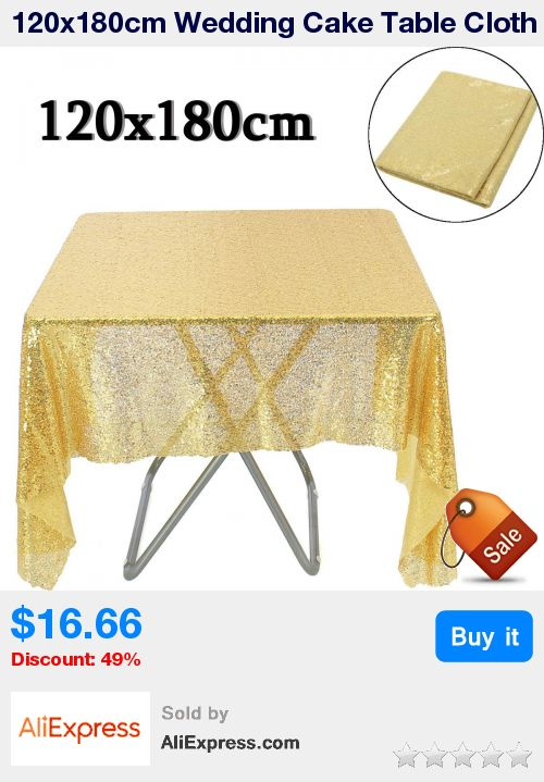 120x180cm Wedding Cake Table Cloth Gold Sequin Table Overlay Toalha  Round Tablecloth Decoration Sequin Bling * Pub Date: 10:35 May 17 2017