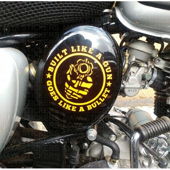 Best Royal Enfield Custom Stickers Images On Pinterest - Classic motorcycle custom stickers