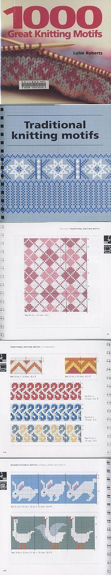 #Knitulator #sammelt #Ideen: Muster 1000 Great Knitting Motifs
