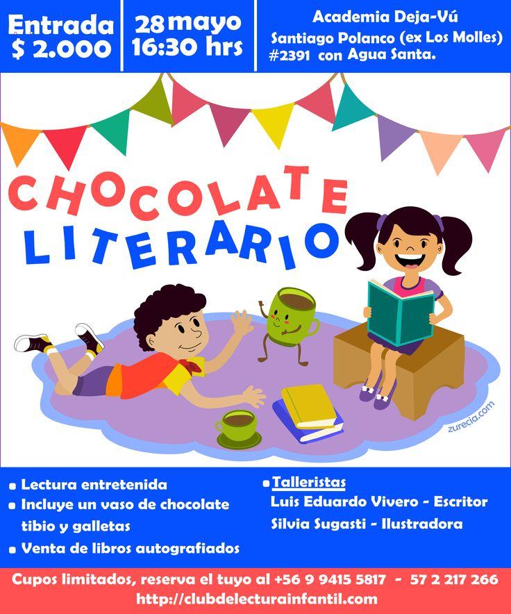 Chocolate Literario Afiche Mayo 2015