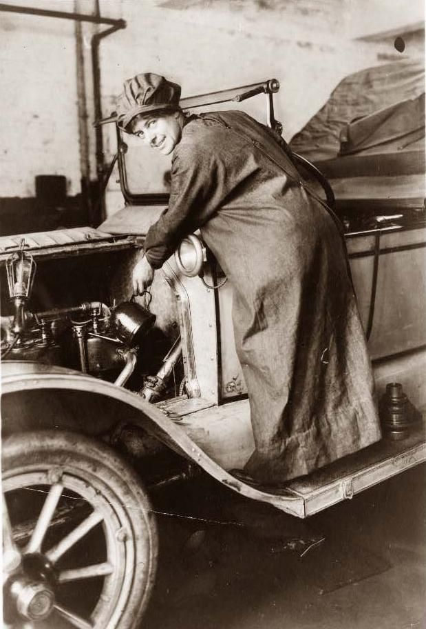Woman Mechanic