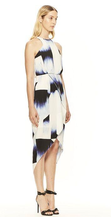 No Other Way Midi Printed Dress