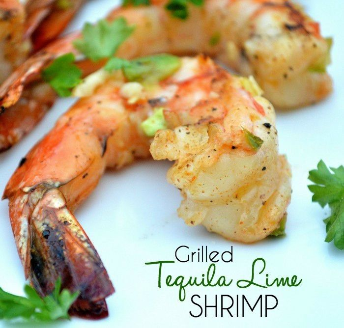 Grilled Tequila Lime Shrimp: Easy Weeknight Dinner Recipe  Click through for the recipe!!  Jo-Lynne Shane