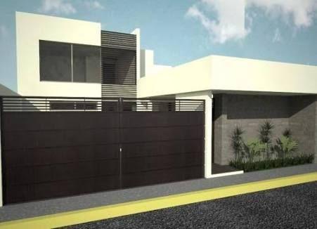 34 best fachadas casas images on pinterest modern homes for Casas residenciales minimalistas