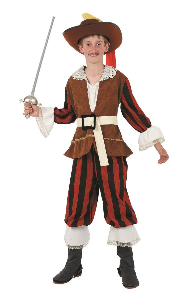 Disfraz de mosquetero clásico para niño | Comprar