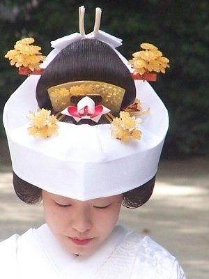 角隠し(Chuokakushi)  Japanese wedding dress