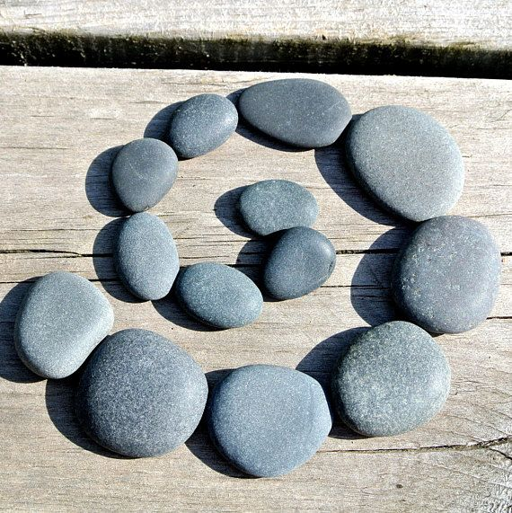 Zen Stones * 6.3 oz * Lake Superior * Meditation * Mosaic Supplies * Zen Garden * Terrarium * Aquarium * Home Decor
