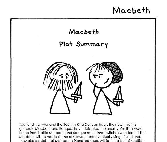 Macbeth plot summary teaser pic