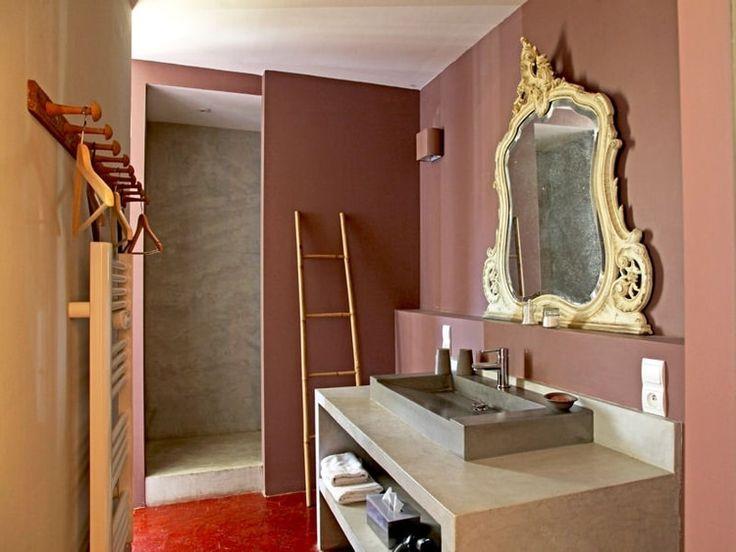 Les 25 meilleures id es de la cat gorie salle de bain mauve sur pinterest salles taupe - Accessoire de salle de bain rose mauve ...