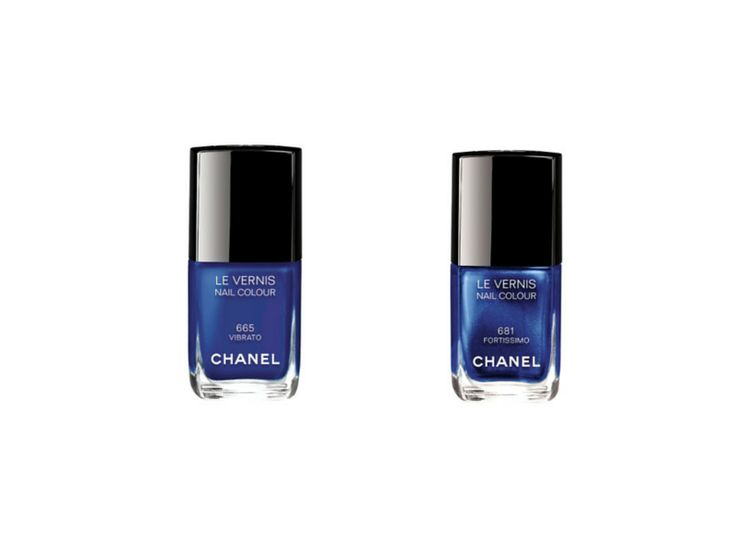 Collection Blue Rhythm de Chanel Le Vernis in Vibrato and Fortissimo